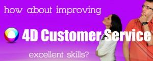 customer service slider